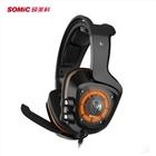 7.1震动游戏耳机头戴式耳机有线电脑耳机耳麦G910