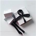 戒指首饰盒 白色小首饰包装盒 牛皮纸首饰盒包装定做批发