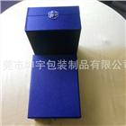 钢琴漆木盒 蓝色礼品包装盒 创意精美礼品包装木盒定做