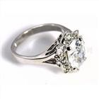 铜材质镶锆石时尚戒指指环